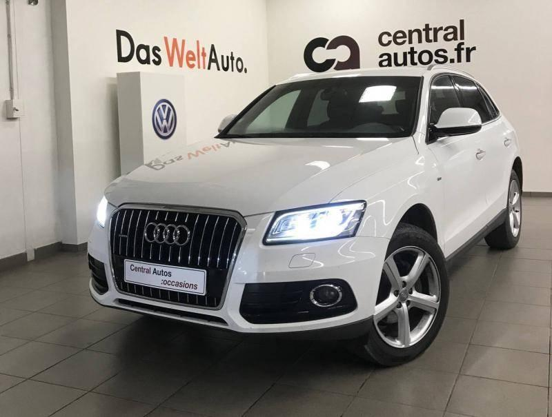 audi q5 2 0 tdi clean diesel 190 d 39 occasion 28990 chez central autos vw st priest. Black Bedroom Furniture Sets. Home Design Ideas